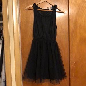 Black crinoline dresss